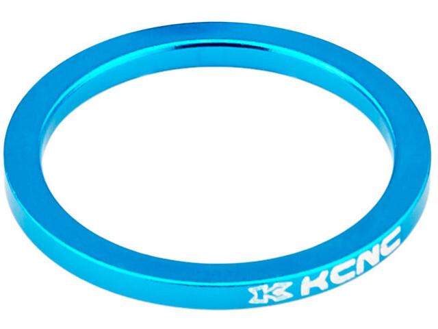 "KCNC Headset Spacer 1 1/8"" 5mm blau"